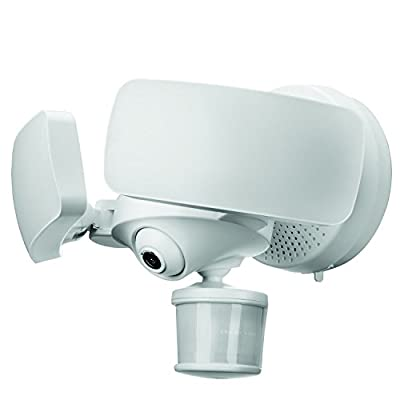 Maximus Floodlight Camera Motion-Activated HD Security Cam Two-Way Talk and Siren Alarm by Maximus