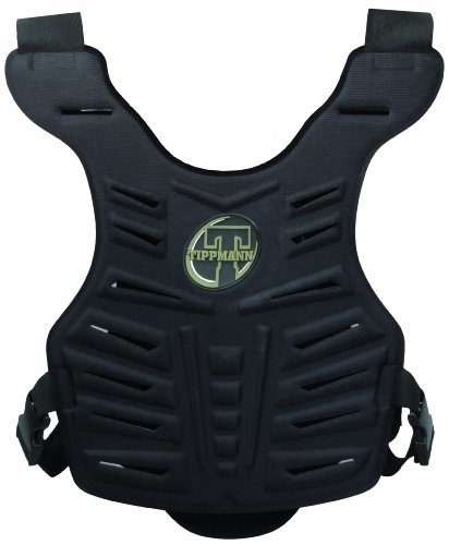 Tippmann Hard Chest Body Armor, One Size, Black