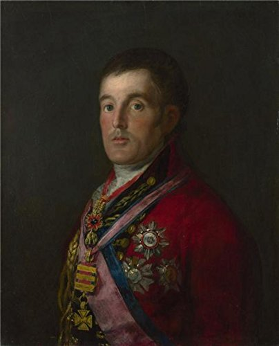 'Francisco De Goya - The Duke Of Wellington,1812-14' Oil Painting, 18x22 Inch / 46x57 Cm ,printed On High Quality Polyster Canvas ,this High Definition Art Decorative Prints On Canvas Is Perfectly Suitalbe For Study Gallery Art And Home Decor And Gifts