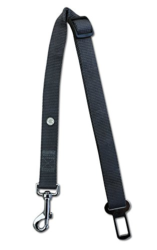 Image of American Kennel Club AKC20030GRAY Pet Car Seat Belt, One Size