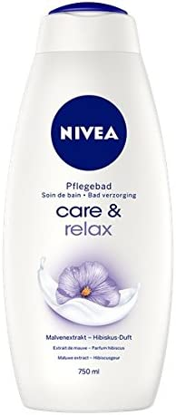 Nivea Care & Relax - Crema de baño, pack de 2 (2 x 750 ml): Amazon ...
