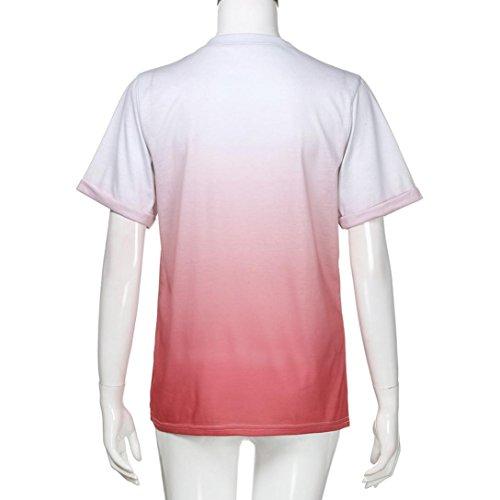 Rosso SANFASHION Damen SANFASHION Shirt155 Bekleidung Ballerine Multicolore Multicolore Donna zgzq8rv