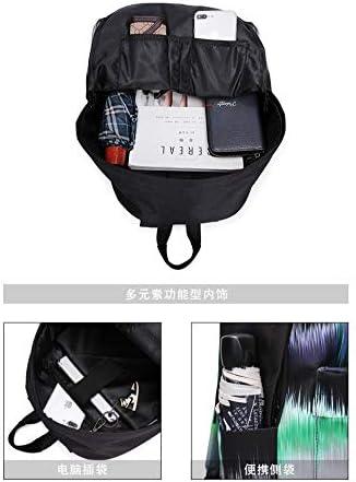 Zlk Backpack Printed Shoulder Bag Street Backpack Bag Travel Backpack