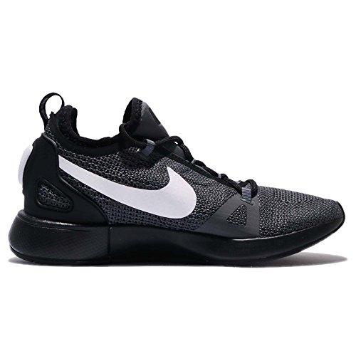Nike Duel Racer Dames Loopschoenen Zwart-wit-donker Grijs