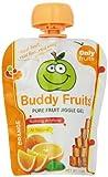 Buddy Fruits Jiggle Gel, Orange, 3.2 Ounce (Pack of 18)