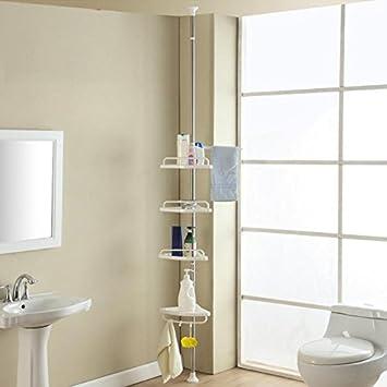 yahee ducha estantes esquina para ducha estantera esquinera de ducha telescpica con baldas