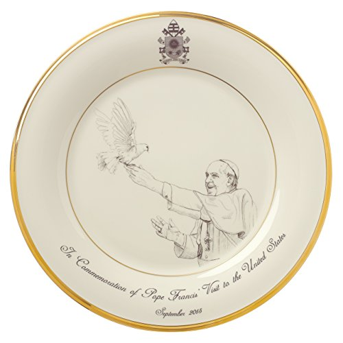 Lenox Pope Francis Commemorative Plate product image