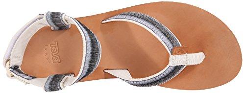 Sandale Plein Et Air Hombre Sandale En blanc En Cuir Originale Mode Sport De Vie Blanc Teva Femmes q6gEnpR