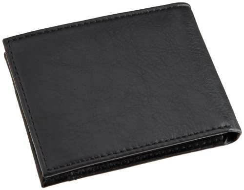 Black Emboss Leather Extra Capacity Columbia Wallet Columbia Slimfold Men's Men's TP8xaqFW