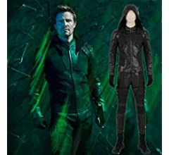 Cosplay Green Arrow Costume Clothes Navidad Halloween ...