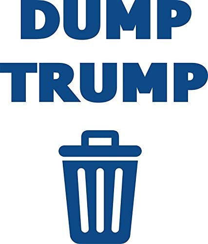 Dump TRUMP Vinyl Decal Wall Laptop Bumper Sticker 5