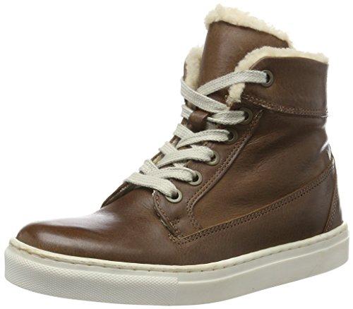 HIP Jungen H2538 Hohe Sneakers, Braun (26CO), 38 EU
