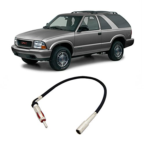 - Fits GMC Jimmy 1994-2001 Factory Stereo to Aftermarket Radio Antenna Adapter Plug