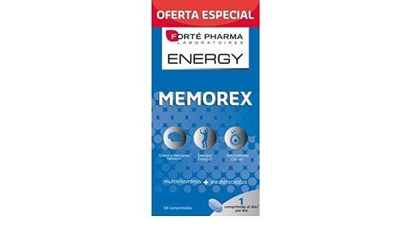 Forte Pharma Energy Memorex 56 Comp.: Amazon.es: Salud y cuidado personal
