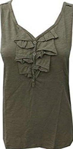 Camiseta de tirantes Mujer de Eddie Bauer OLIVA