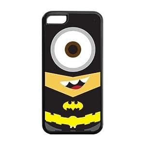 DIY Fashion Batman Logo High Quality Durable Hard Rubber Gel Silicon Cover Case for iPhone 5C