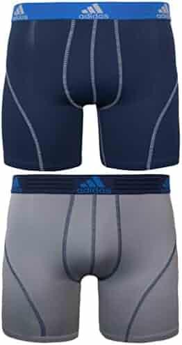 adidas Men's Sport Performance Climalite Boxer Brief Underwear (2 or 4 Pack)