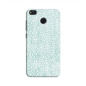 Cover It Up - Blue Pebbles Mosaic Redmi 4 Hard Case
