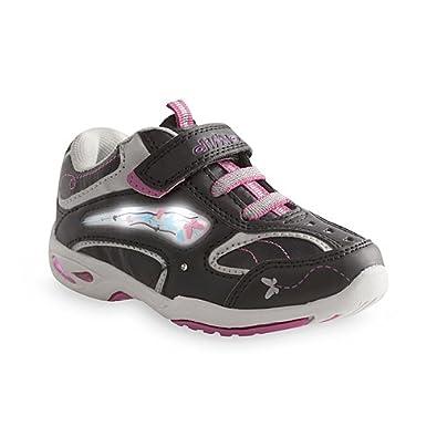 diMio Butterfly Chaussures clignotantes pour enfant Noir