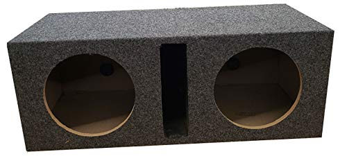 Slot Ported Chamber 5/8 True MDF Sub woofer Enclosure QPower ()