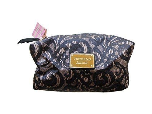 Victoria's Secret Lace Print Make up Cosmetic Bag Case