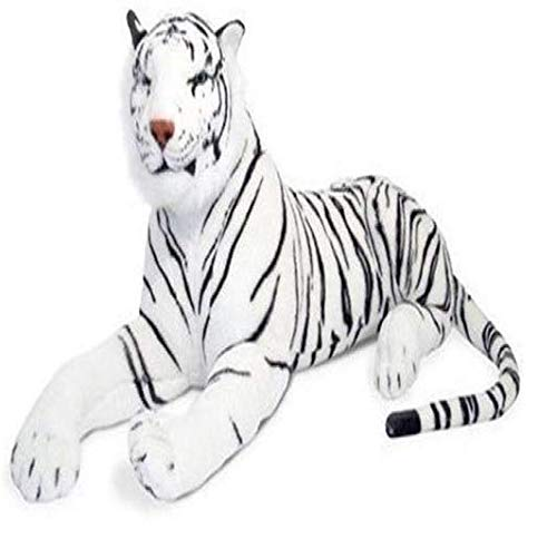 TEMSON Kid Cute White Tiger Stuffed Soft Plush Toy 32 cm