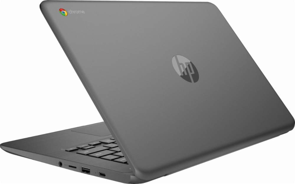 2019 Newest HP 14in Lightweight Business Chromebook-Intel Celeron Dual-Core Up to 2.4 GHz Processor, 4GB LPDDR4 RAM, 32GB SSD, Intel HD Graphics, WiFi, Chrome OS (Renewed)