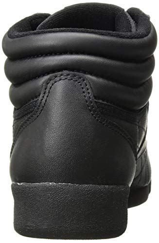 Reebok Women's Freestyle Hi Walking Shoe, Black, 5 M US by Reebok (Image #2)