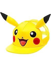 Pokémon Pikachu Big Face with Ears Hat, One Size