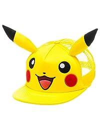 Pokemon Pikachu Big Face with Ears Adjustable Cap