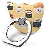 Ring Holder Funny Rolls and Sushi Cat Type Ring Cell Phone Stand Adjustable 360° Rotation Finger Grip Holder for IPad Phone X/6/6s/7/8/8 Plus/7