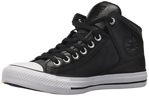 8d58af5616b17d Converse Women s Street Leather High Top Sneaker
