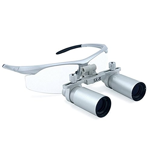 5.0X 420mm Working Distance Dental Surgical Medical Binocular Loupes with Ultra-light and High Brightness Optical Glasses by by Url Dental (Image #6)