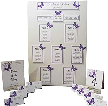 Personalised Wedding Table Plan