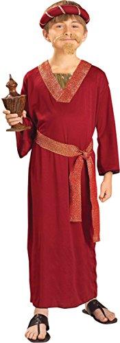 Child Wiseman Costumes (Forum Novelties Biblical Times Burgundy Wiseman Child Costume, Medium)