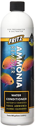 Fritz Aquatics 80233 Fritz ACCR Water Conditioner and Ammonia Remover for Fresh and Salt Water Aquariums, 16-Ounce