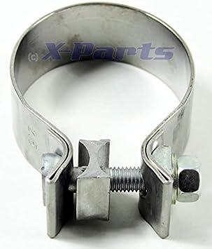 3 x Auspuffschelle für verschiedene PKW VAG Ø 58,5 mm Auspuff Montageschelle