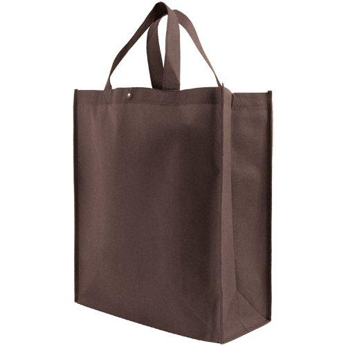 【全商品オープニング価格 特別価格】 再利用可能な補強ハンドル付き買い物用トートバッグ #NA Lサイズ 10枚パック B003B5Y4CQ #NA B003B5Y4CQ ブラウン ブラウン ブラウン, オオトウムラ:24b27010 --- ballyshannonshow.com