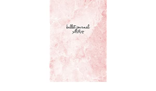 Amazon.com: Bullet Journal: Marble Pink Notizbuch A5 Dotted ...