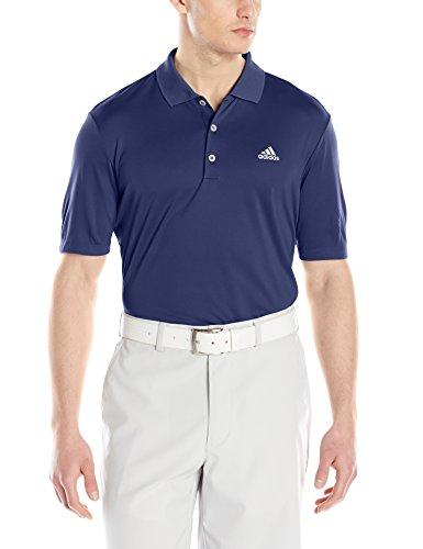 adidas Golf Men's Adi Branded Performance Polo, St Dark Slate, X-Large