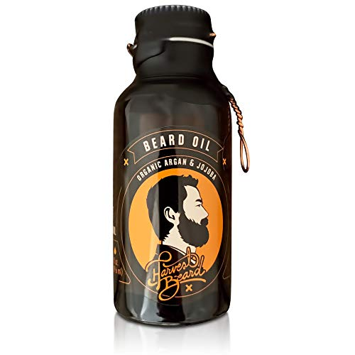 Harvest Beard Ingredients Mustache Peppermint product image