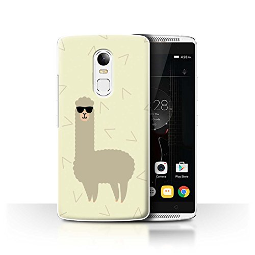 STUFF4 Phone Case / Cover for Lenovo Vibe X3 / Cool Shades Sunglasses Design / Cartoon Alpaca - X3 Sunglasses