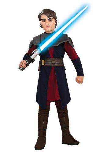 [Star Wars Clone Wars Child's Deluxe Anakin Skywalker Costume] (Young Anakin Costume)