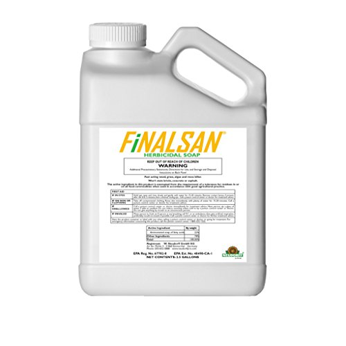 Finalsan Organic Herbicide Total Vegetation and Weed Killer Concentrate Roundup Glyphosate Alternative