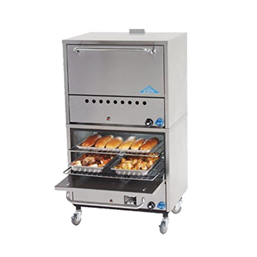 COMSTOCK CASTLE 2B31N Double Stacked Gas Bake Oven