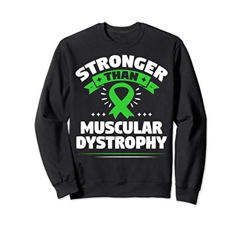 Becker Muscular Dystrophy Gift - Lime Green Ribbon Sweatshirt
