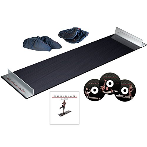 5' Foot Slide Board with Reinforced End Stops for High Intensity and low Impact Exercise (Lower Slide)