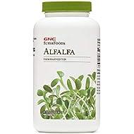 GNC SuperFoods Alfalfa, 480 Tablets, Helps Lower Cholesterol