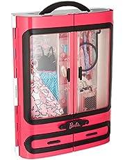 Barbie Fashionsita, Armario Fashion con ropa y accesorios (Mattel DMT57)
