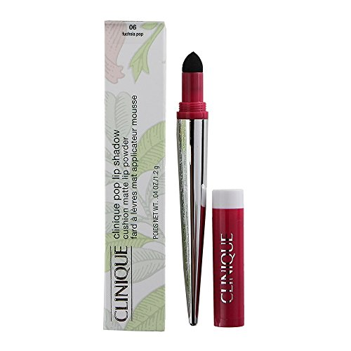 Lipstick Clinique Rose (Clinique Pop Lip Shadow Cushion Matte Lip Powder Fuschia Pop, fuschia pop, 0.04oz /1.2g)